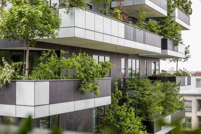 Độc đáo tòa chung cư như rừng giữa phố, mỗi buổi sáng chim hót líu lo - Ảnh 7
