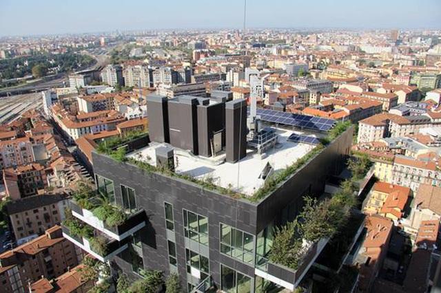 Độc đáo tòa chung cư như rừng giữa phố, mỗi buổi sáng chim hót líu lo - Ảnh 8