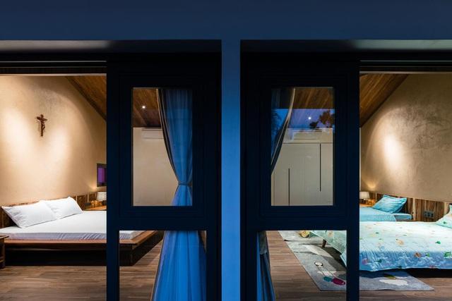 Mê mẩn nhà mái gỗ tuyệt đẹp, có sân thượng xanh mướt đủ loại cây ở Vũng Tàu - Ảnh 9