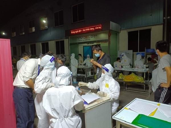 Bắc Giang: Ổ dịch mới ở Công ty Hosiden đã có 35 công nhân mắc COVID-19 - Ảnh 1