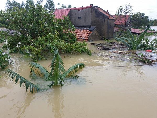 Hôm nay Hà Tĩnh, Quảng Bình lại mưa to đến rất to, có nơi vượt 100mm - Ảnh 1