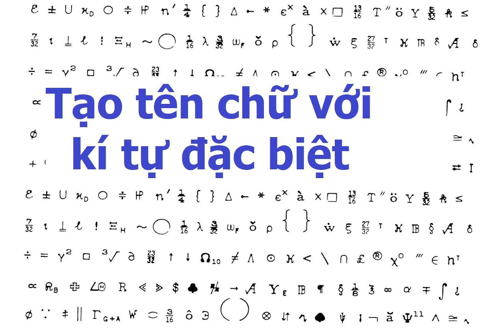 Cách tạo Kí tự đặc biệt ff siêu đơn giản với Tuongquan.vn - Ảnh 3