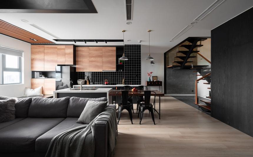 Căn hộ duplex với phong cách 'công xưởng' tại Hà Nội - Ảnh 2