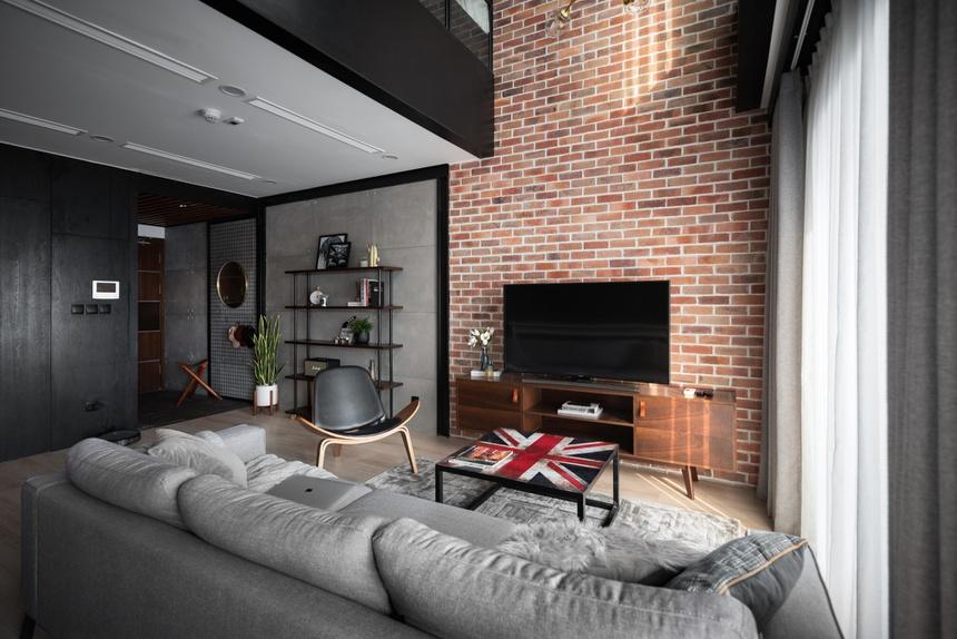 Căn hộ duplex với phong cách 'công xưởng' tại Hà Nội - Ảnh 3