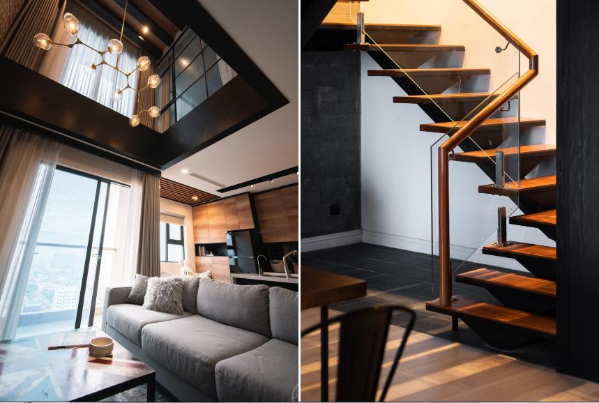 Căn hộ duplex với phong cách 'công xưởng' tại Hà Nội - Ảnh 5