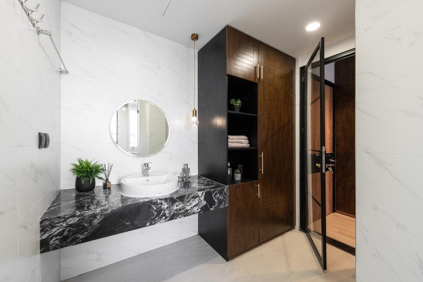 Căn hộ duplex với phong cách 'công xưởng' tại Hà Nội - Ảnh 9