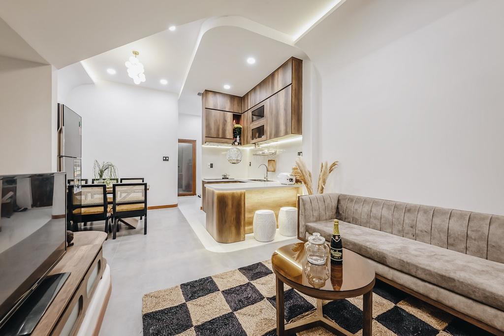 Kiến trúc sư trẻ cải tạo căn nhà cũ tặng ba mẹ tại Nha Trang - Ảnh 4