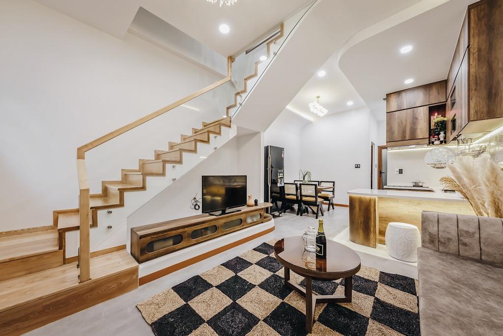 Kiến trúc sư trẻ cải tạo căn nhà cũ tặng ba mẹ tại Nha Trang - Ảnh 5