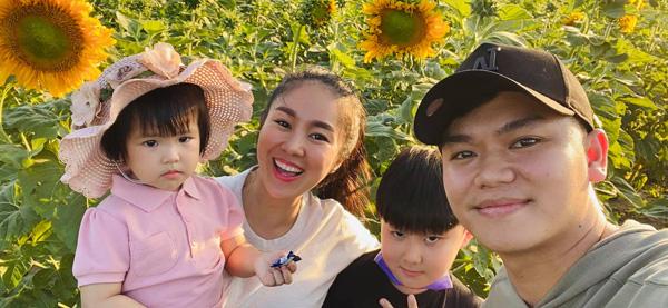 Cuộc sống bên chồng kém 7 tuổi của Lê Phương: Mẹ chồng bênh vực, các con nghe lời - Ảnh 4