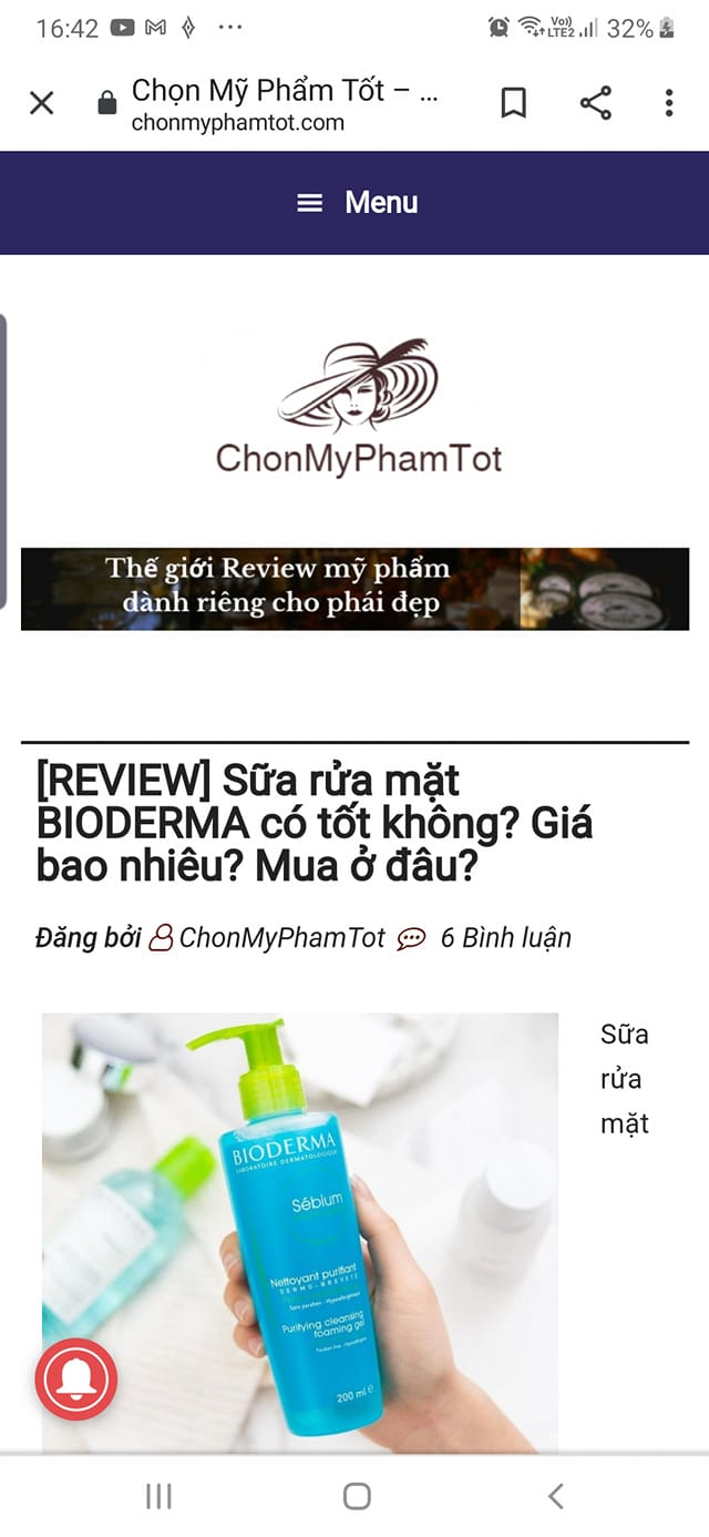Ra mắt Chonmyphamtot.com - website review mỹ phẩm uy tín - Ảnh 4