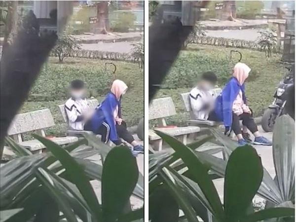"""Thêm cặp đôi mặc đồng phục học sinh làm 'chuyện ấy"""" trong công viên, CĐM: """"Không thể chấp nhận nổi"""" - Ảnh 1"""