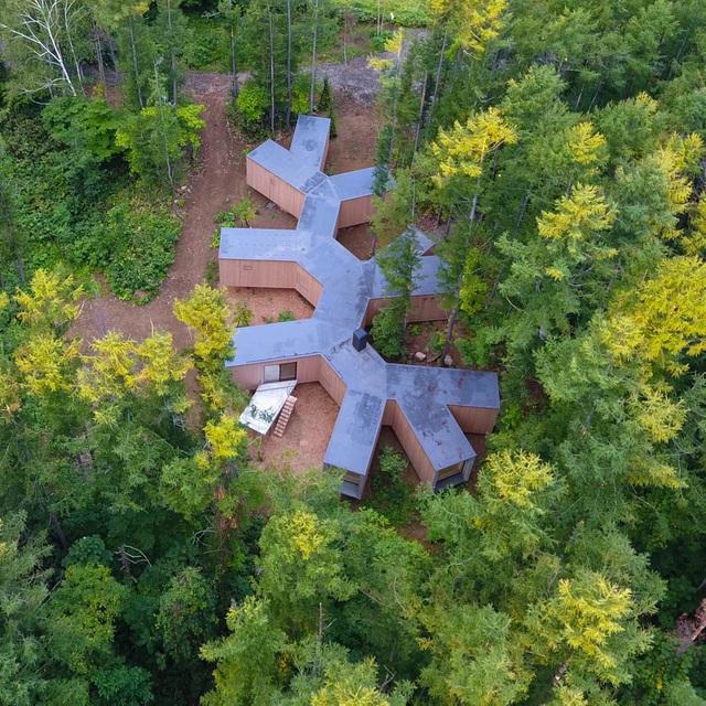 Nhà nghỉ dưỡng bằng gỗ ẩn mình giữa rừng cây ở Hokkaido, Nhật Bản - Ảnh 3