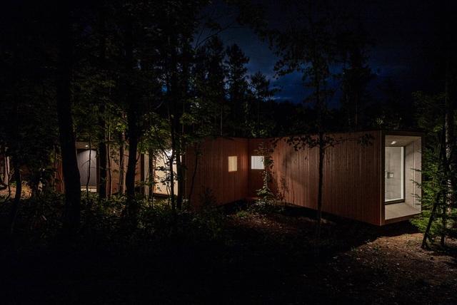 Nhà nghỉ dưỡng bằng gỗ ẩn mình giữa rừng cây ở Hokkaido, Nhật Bản - Ảnh 5