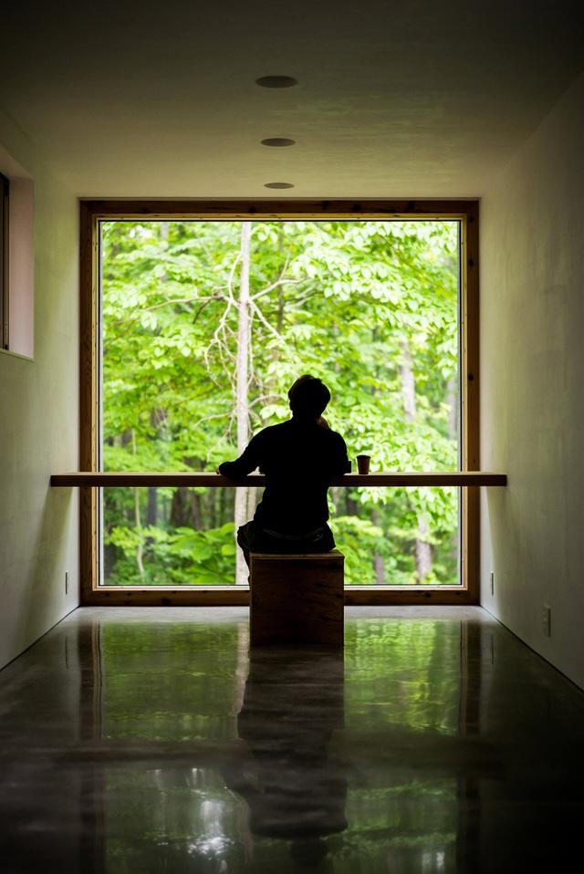Nhà nghỉ dưỡng bằng gỗ ẩn mình giữa rừng cây ở Hokkaido, Nhật Bản - Ảnh 8