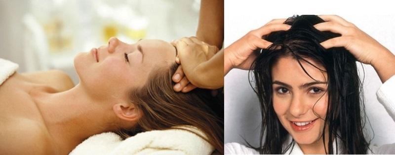 Giúp tóc mọc nhanh trong 1 tuần bằng mát xa da đầu