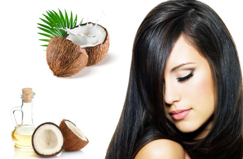 Dầu dừa – Nguyên liệu rẻ tiền giúp mọc tóc nhanh tự nhiên.
