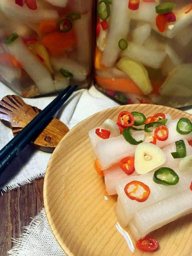 Mách bạn cách làm củ cải ngâm chua ngọt cực ngon - Ảnh 1