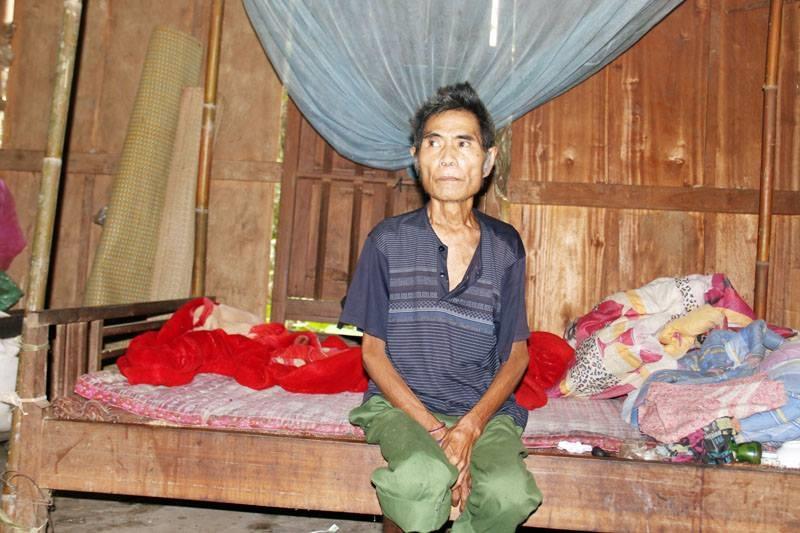 Cuộc sống cô độc, bệnh tật những ngày cuối đời của ông lão sống sót sau vụ thảm sát 4 người tại Nghệ An - Ảnh 1