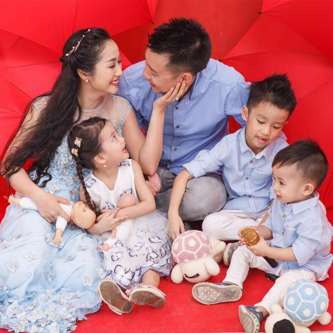 Sao nữ Vbiz càng đông con, càng được chồng yêu chiều, hạnh phúc tràn đầy - Ảnh 6