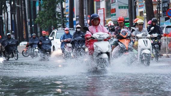 Dự báo thời tiết hôm nay 10/5: Nam Bộ và Tây Nguyên có mưa dông diện rộng - Ảnh 1