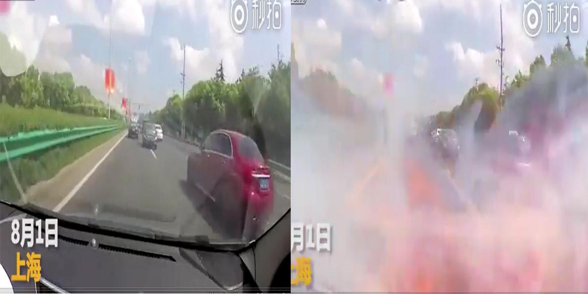 Nữ tài xế hoảng loạn la hét khi chiếc iPhone 6 bất ngờ phát nổ trong ô tô - Ảnh 1