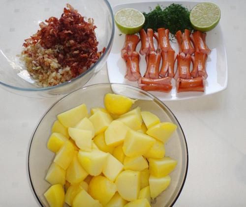 Salad khoai tây tươi ngon, hấp dẫn - Ảnh 3