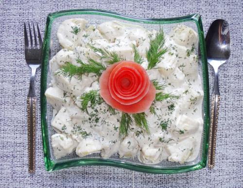 Salad khoai tây tươi ngon, hấp dẫn - Ảnh 6