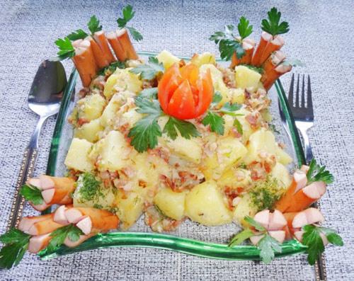 Salad khoai tây tươi ngon, hấp dẫn - Ảnh 4