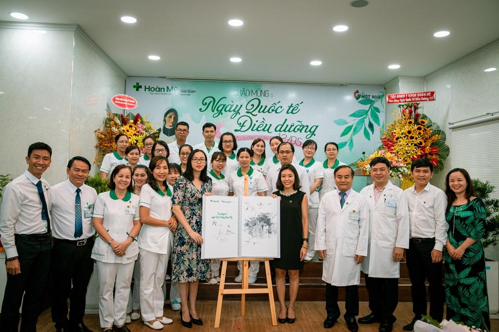 Tôn vinh nghề Điều dưỡng Việt Nam, Tập đoàn Y khoa Hoàn Mỹ khởi động dự án xuất bản sách viết về nghề Điều dưỡng - Ảnh 2
