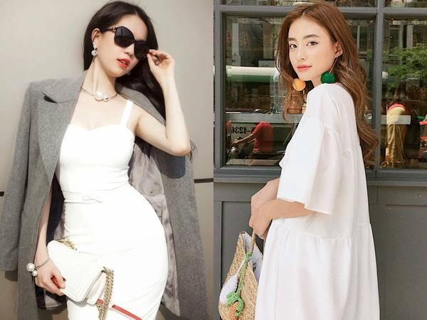 Để trông thật tươi mới, gọn gàng và sạch sẽ, các quý cô hãy diện ngay trang phục màu trắng