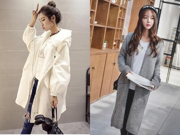 Những chiếc áo khoác màu sắc nhã nhặn, trung tính như màu be, màu pastel dáng dài sẽ giúp bạn trông sang trọng, trẻ trung và còn mảnh mai hơn rất nhiều