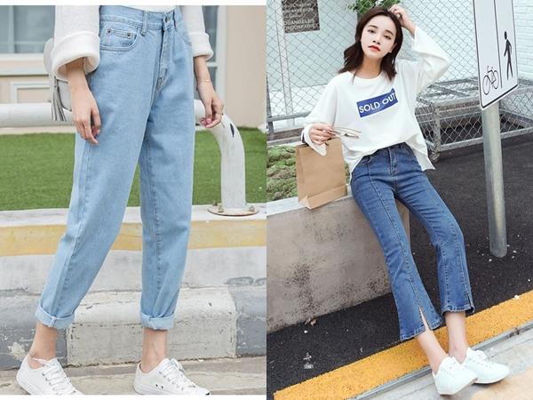 Quần jeans là kiểu trang phục không quá kén dáng và còn dễ dàng sử dụng trong nhiều hoàn cảnh khác nhau