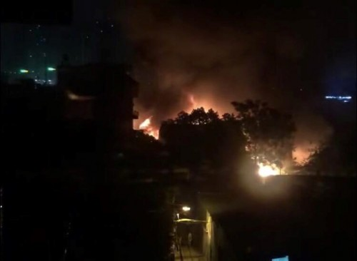 Vụ cháy nhà xưởng ở Hà Nội: Trong số 8 nạn nhân có 3 mẹ con vẫn đang mất tích - Ảnh 1