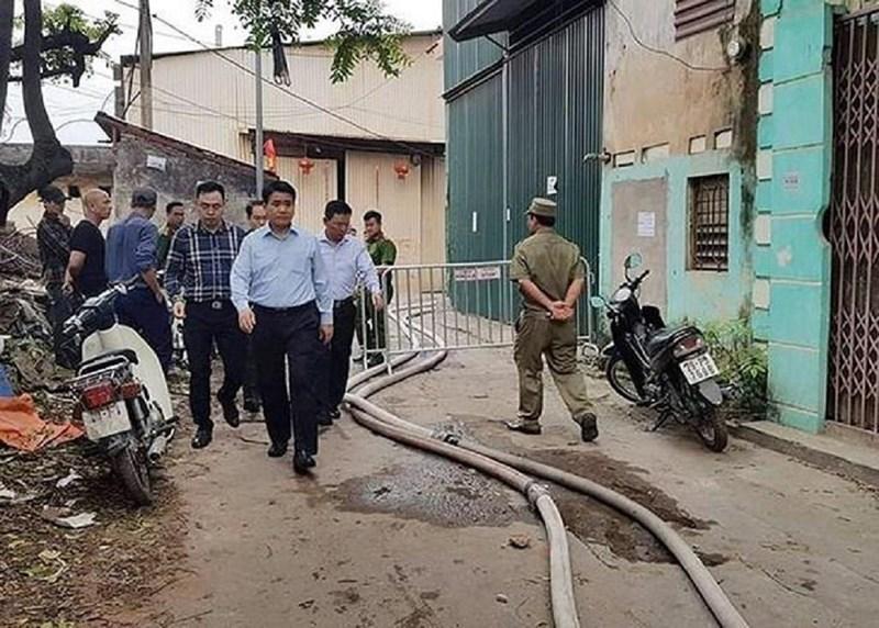 Vụ cháy nhà xưởng ở Hà Nội: Trong số 8 nạn nhân có 3 mẹ con vẫn đang mất tích - Ảnh 5