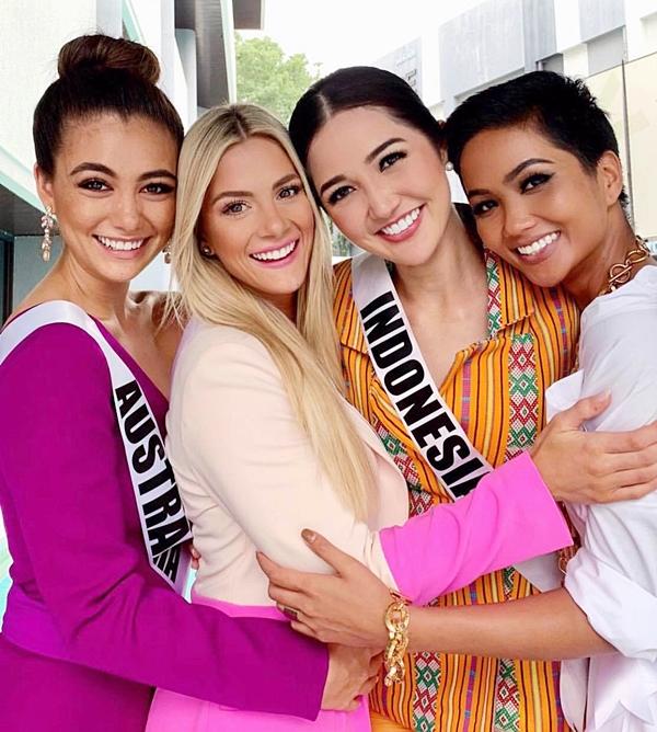 H'hen Niê không muốn 'đôi co' khi bị Hoa hậu Mỹ chê trình tiếng Anh - Ảnh 1