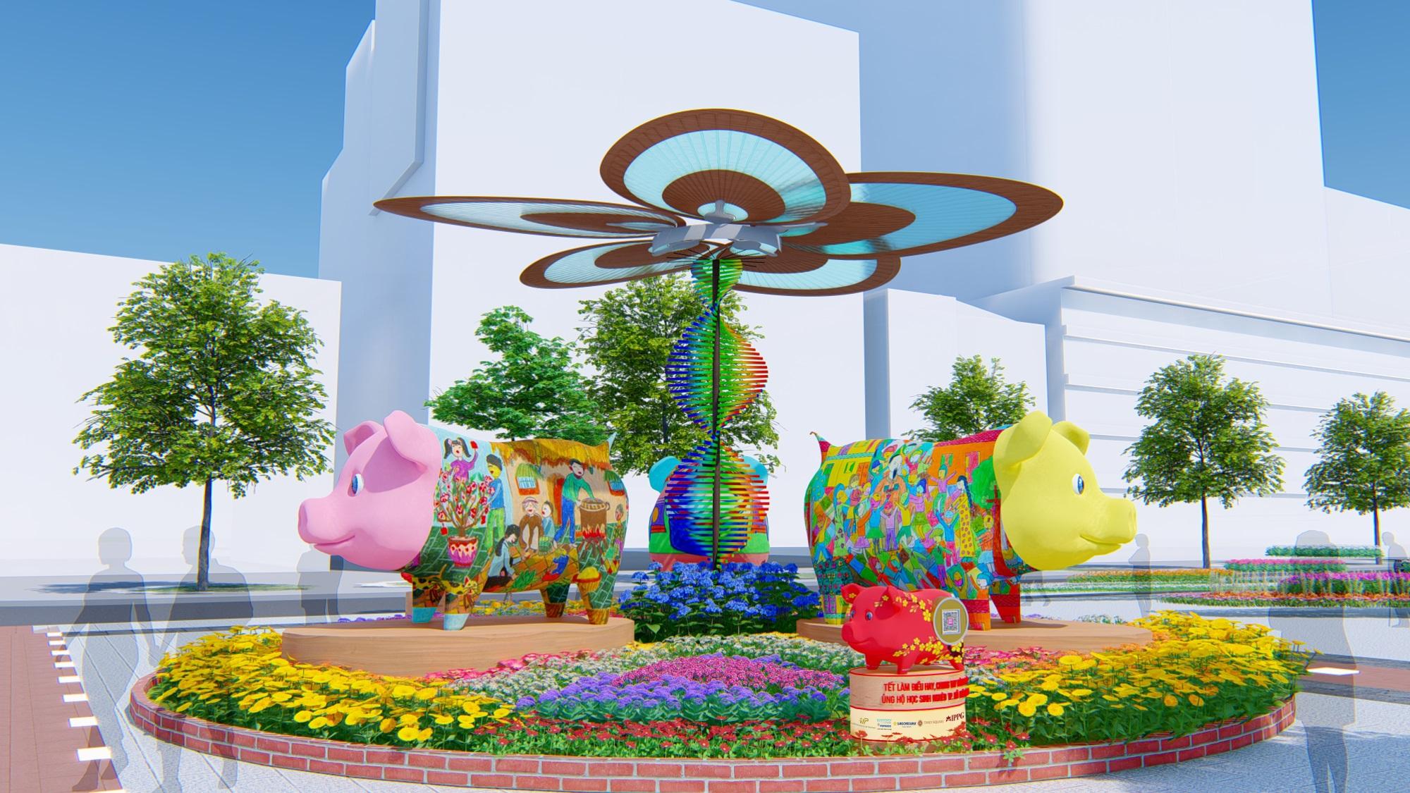 Sẽ có gì trên đường hoa Nguyễn Huệ Tết Kỷ Hợi 2019? - Ảnh 5