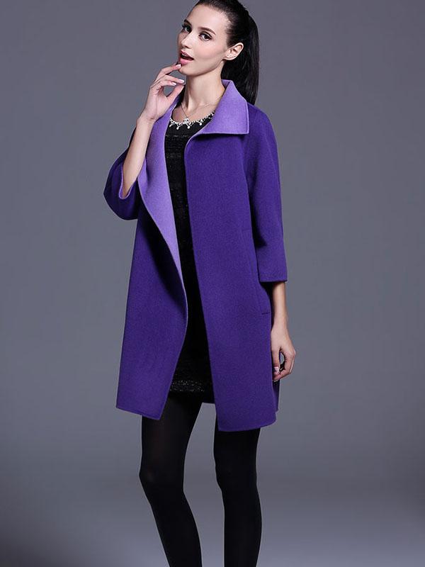 Những mẫu áo khoác dạ dài đẹp đến mê hồn theo phong cách Hàn Quốc - Ảnh 1