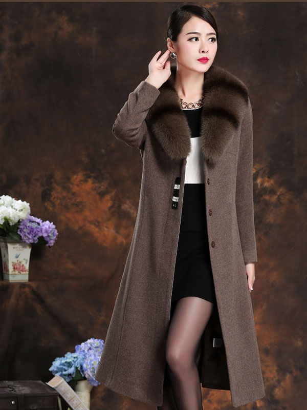 Những mẫu áo khoác dạ dài đẹp đến mê hồn theo phong cách Hàn Quốc - Ảnh 2