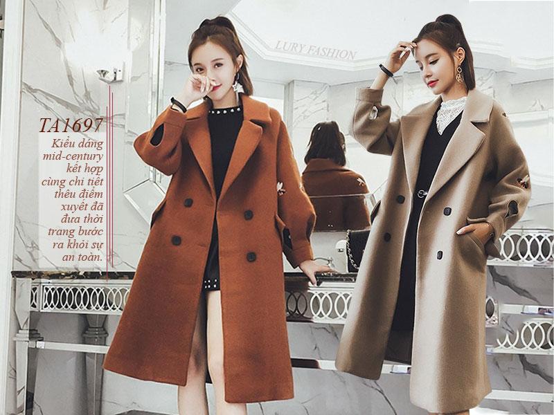 Những mẫu áo khoác dạ dài đẹp đến mê hồn theo phong cách Hàn Quốc - Ảnh 5
