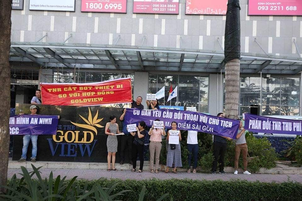 TNR Holdings đang mất điểm thương hiệu tại dự án The Goldview - Ảnh 1