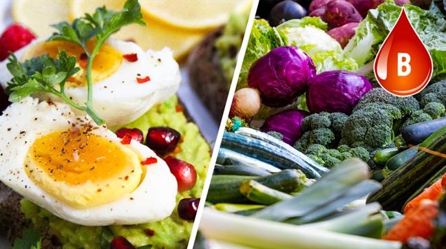 Chế độ ăn uống khỏe mạnh dành cho từng nhóm máu - Ảnh 2