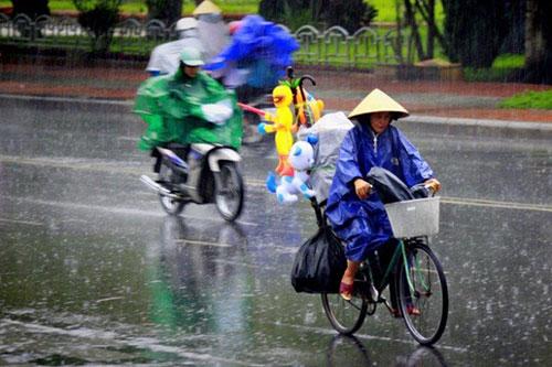 Dự báo thời tiết ngày 18/2: Bắc - Trung Bộ mưa dông trên diện rộng, Nam Bộ oi bức - Ảnh 1