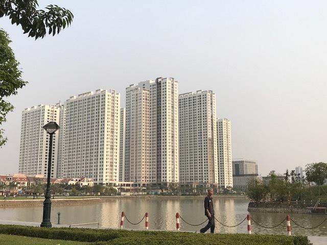 Dự án An Bình City do Geleximco làm chủ đầu tư liên tiếp xảy ra sự cố bục đường ống nước PCCC dù mới được bàn giao chưa lâu.