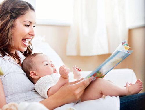Những thói quen giúp trẻ nhanh biết nói, mẹ nhớ tập cho bé nhé - Ảnh 2
