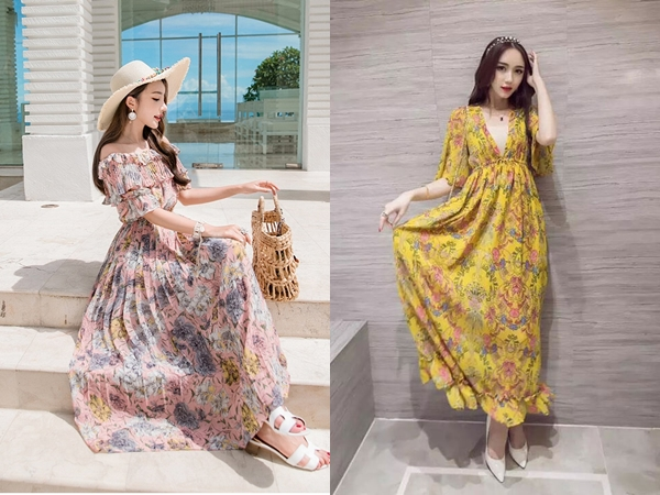 Những kiểu váy quá dài sẽ khiến vẻ ngoài của bạn biến thành