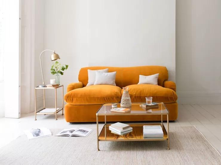 10 mẫu bàn trà tinh tế dành cho nội thất phòng khách nhỏ - Ảnh 1
