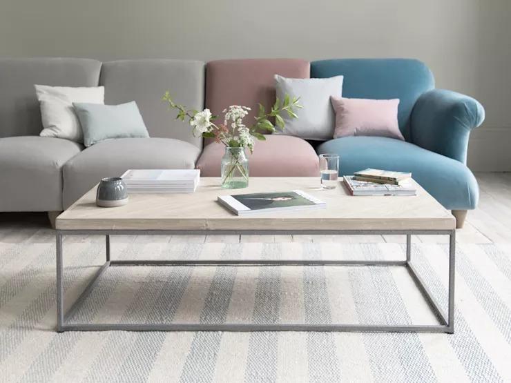 10 mẫu bàn trà tinh tế dành cho nội thất phòng khách nhỏ - Ảnh 2