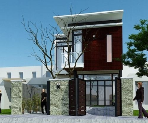 Ngắm những mẫu nhà 2 tầng mái bằng đẹp mê ly - Ảnh 3