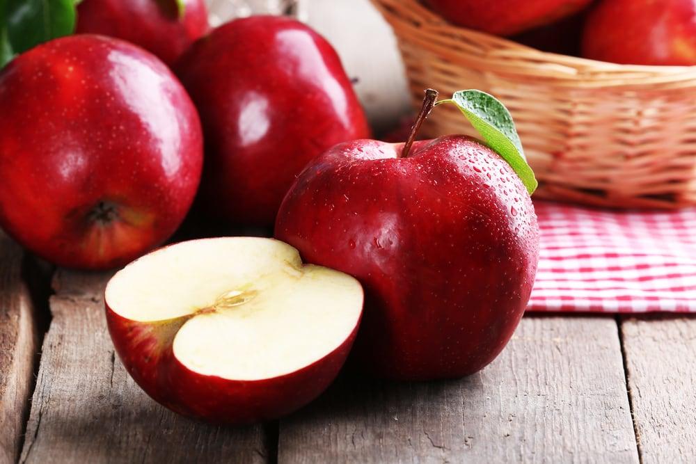 nữ giới ăn nhiều hơn 1 quả táo mỗi ngày sẽ cảm thấy đời sống chăn gối viên mãn hơn.