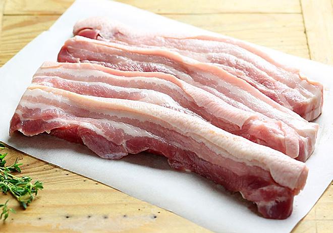 Thịt lợn giàu dinh dưỡng. Ảnh: Abel